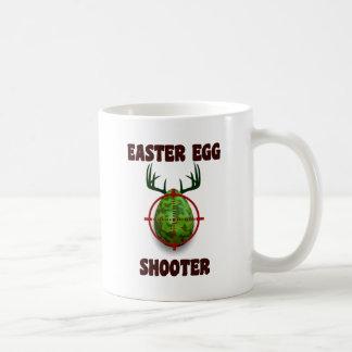 Taza De Café pistola del huevo de Pascua, desgin divertido del