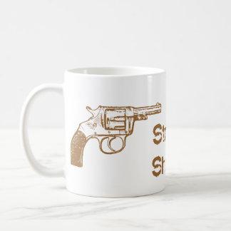 Taza De Café Pistola recta