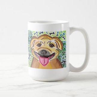 Taza De Café Pitbull feliz