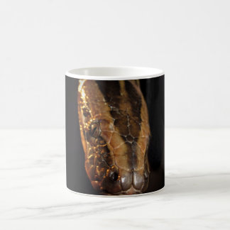 Taza De Café Pitón en negro