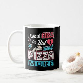 Taza De Café Pizza contra el ABS - dieta que abulta - novedad