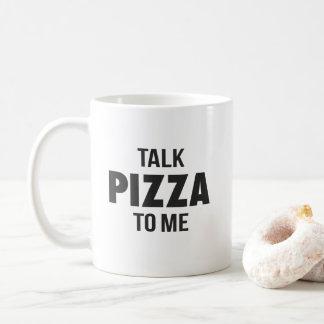 Taza De Café Pizza de la charla a mí impresión divertida