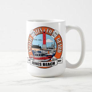 Taza De Café Playa Nueva York de Jones de la estación de