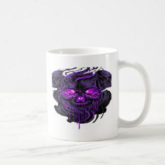 Taza De Café Png púrpura de los esqueletos de Nerpul
