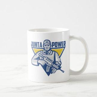 Taza De Café Poder ucraniano de la junta del ejército