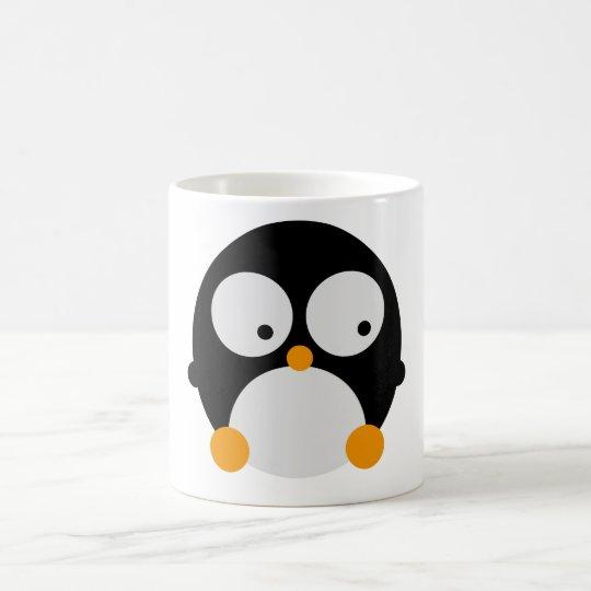 Taza De Café Polluelo lindo del pingüino