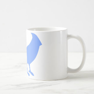 Taza De Café Ponga un pájaro en él