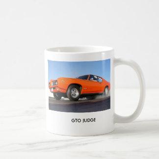 Taza De Café Pontiac-gto-juez, JUEZ de GTO