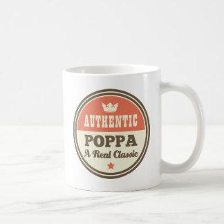 Taza De Café Poppa auténtico una obra clásica real