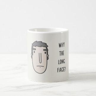Taza De Café ¿Por qué la cara larga?