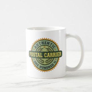 Taza De Café Portador postal auténtico