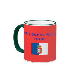 Taza de café portuguesa de los descubrimientos