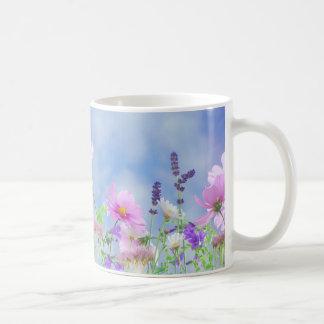 Taza De Café Prado de flor