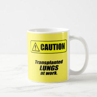 Taza De Café Precaución: Pulmones trasplantados en el trabajo