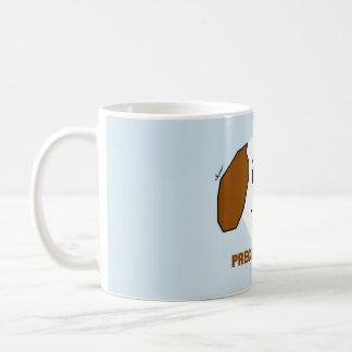 Taza de café preciosa del perrito