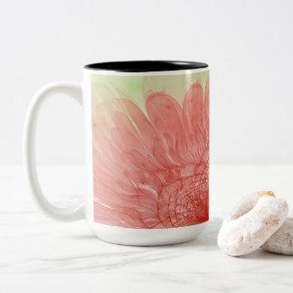 Taza de café presionada extracto del fractal de