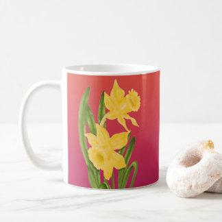 Taza De Café Primavera de la buena mañana