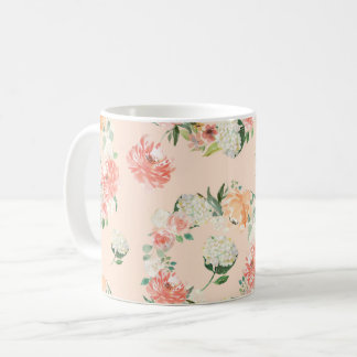 Taza De Café Primavera floral