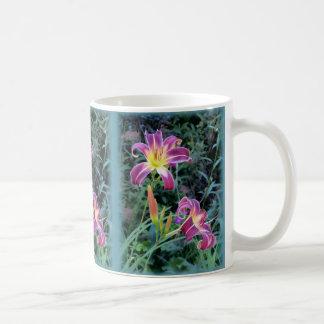 Taza De Café Príncipe de la púrpura - Daylilies