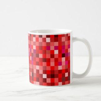Taza De Café Prixel rojas