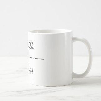 Taza De Café productos de la fe