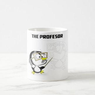 Taza De Café Profesor Pinguino