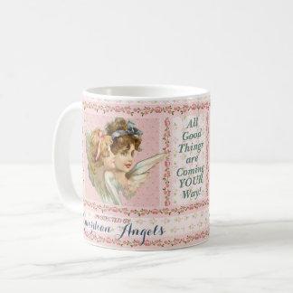 Taza De Café Protegido por ángeles de guarda