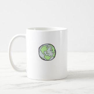 Taza De Café Proteja nuestro planeta