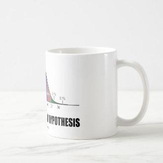 Taza De Café Pruebe siempre su hipótesis (la actitud