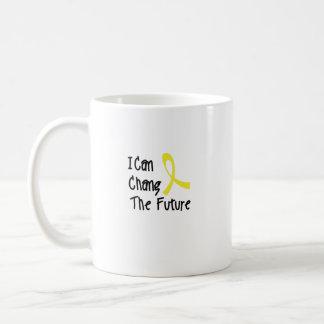 Taza De Café Puedo la conciencia futura del cáncer de la niñez