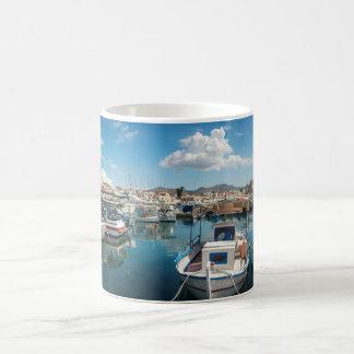 Taza De Café Puerto de la isla de Aegina