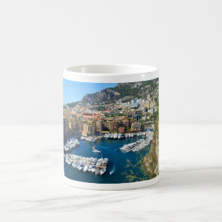 Taza De Café Puerto de Mónaco