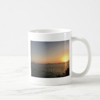 Taza De Café puesta del sol