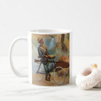 Taza De Café Puesta del sol 1897 del parque de Yellowstone