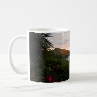 Taza De Café Puesta del sol de Pura Vida