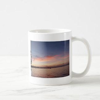 Taza De Café Puesta del sol sobre la bahía de la Florida, Largo