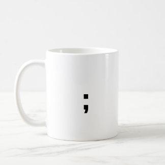 Taza De Café Punto y coma