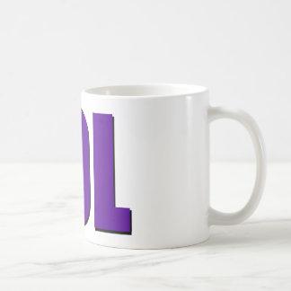 Taza De Café Púrpura de LOL