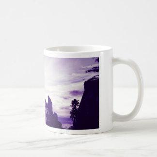 Taza De Café Púrpura de San Diego