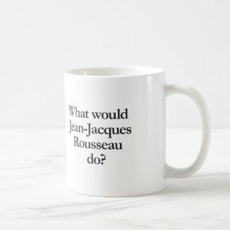 Taza De Café qué Jean-jacques Rousseau haría