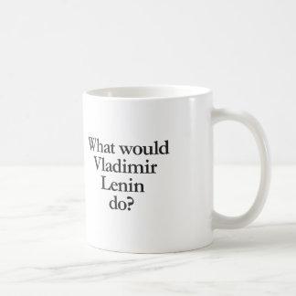 Taza De Café qué Vladimir Lenin haría