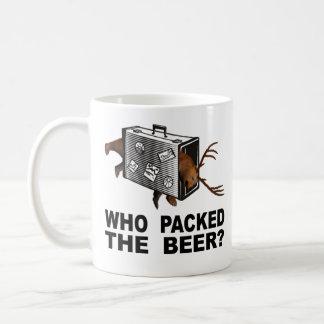 Taza De Café ¿Quién embaló la cerveza?