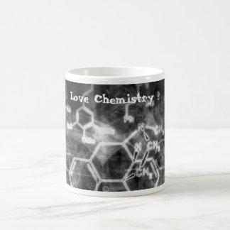 Taza de café - química del amor