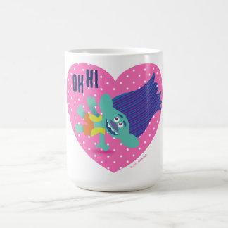 Taza De Café Rama feliz de los duendes el  