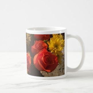 Taza De Café Ramo de flores