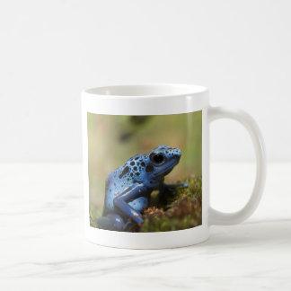 Taza De Café Rana azul del dardo del veneno