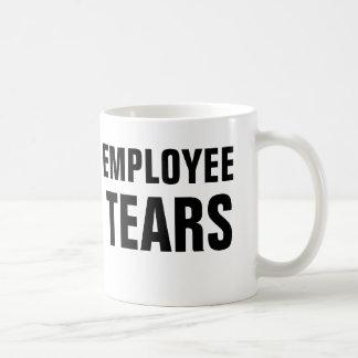 Taza De Café Rasgones del empleado