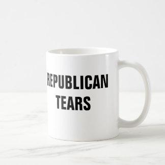 Taza De Café Rasgones republicanos