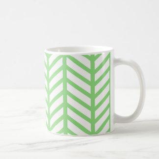 Taza De Café Raspa de arenque verde