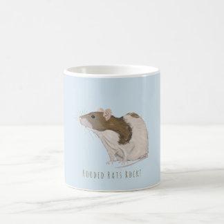 Taza De Café Rata encapuchada de las ratas del Agouti